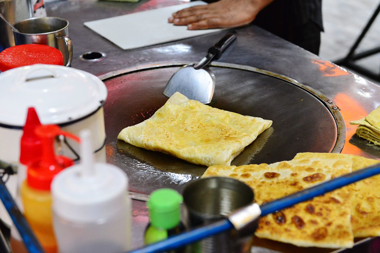 Omelet Preparation  Food And Drink Appetizer Roti Street Food Worldwide Street Food Live To Eat Hungry Food And Drink Food Preparation