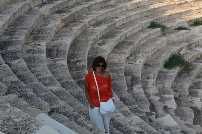 Antik Theater Kaş-kalkan Antic Theatre Woman Of EyeEm Summerholiday Old Buildings