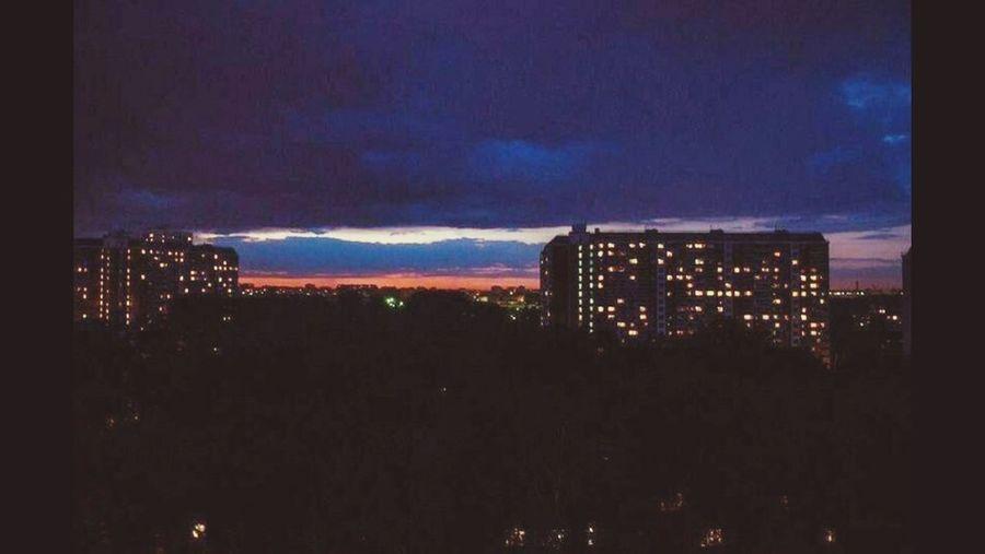 Россия закат