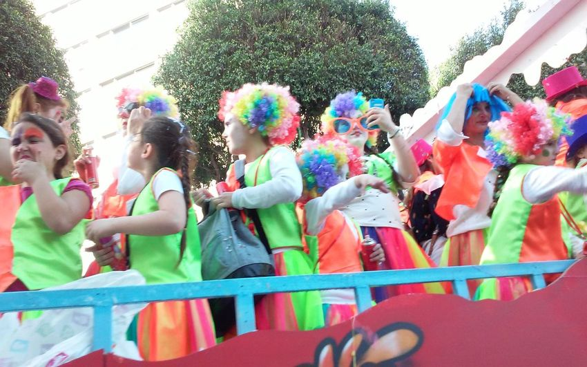 Carnival Carnival Parade Carnival Spirit Colourful Wigs Costumes Cyprus Fun Funny Funny Faces Kids In Parade Limassol Orange Parade Real People