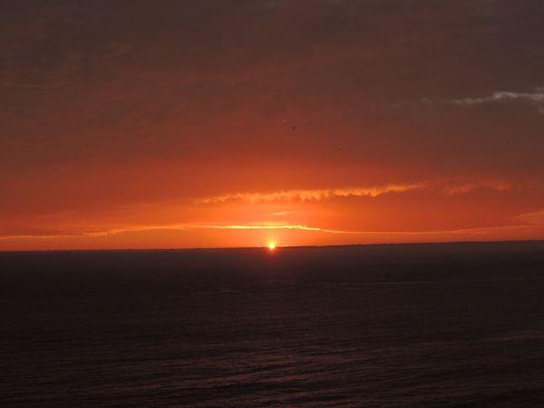 Sunset Sunset Orange Amazing Sunset Sunset Silhouettes Sunset_collection Sunset And Clouds  Sunset And Sea Horizon Over Sea Beautiful Sunset♥♥Good Evening EyeEm Enjoying The Sunset Beauty In Nature Reñaca Beach , Chile