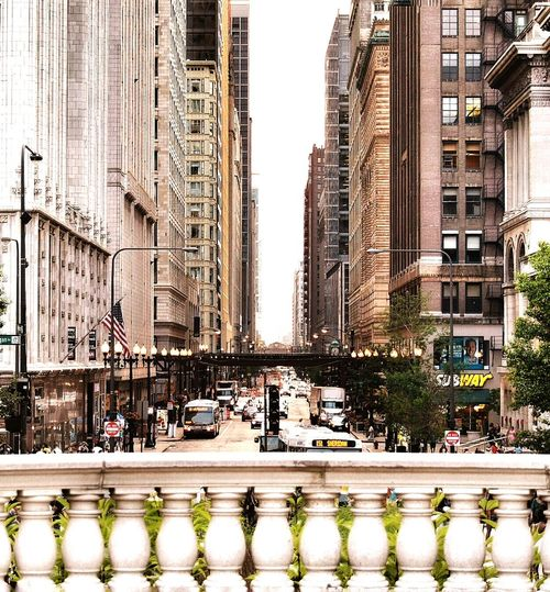 Chicago Architecture Streetphotography High Rise Building