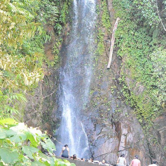 Siholbuk waterfall - first destination in Sibolga , for free bath ... Waterfall Panorama Trip Tourism Travel Wisata Sumaterautara