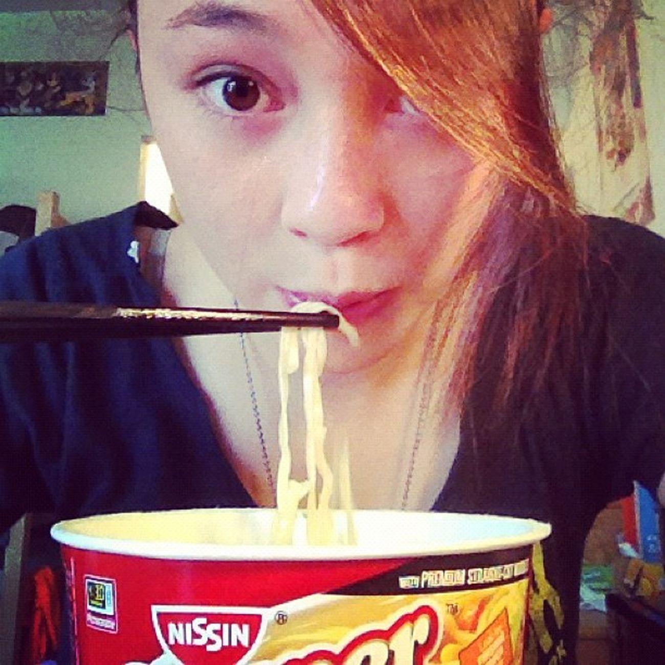every fuckin day. Noodles Instant Souper Bowl ramen