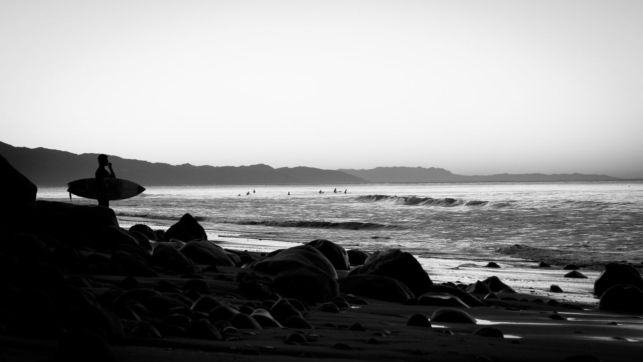 Water Sea Tranquil Scene Beach Beauty In Nature Nature Surf Surfing Surfingphotography Surfingiseverything SurfingUSA Santa Barbara Santa Barbara, CA Surfing ☮ Surfinglife Surfin' Water Surface Ocean Monochrome Photography