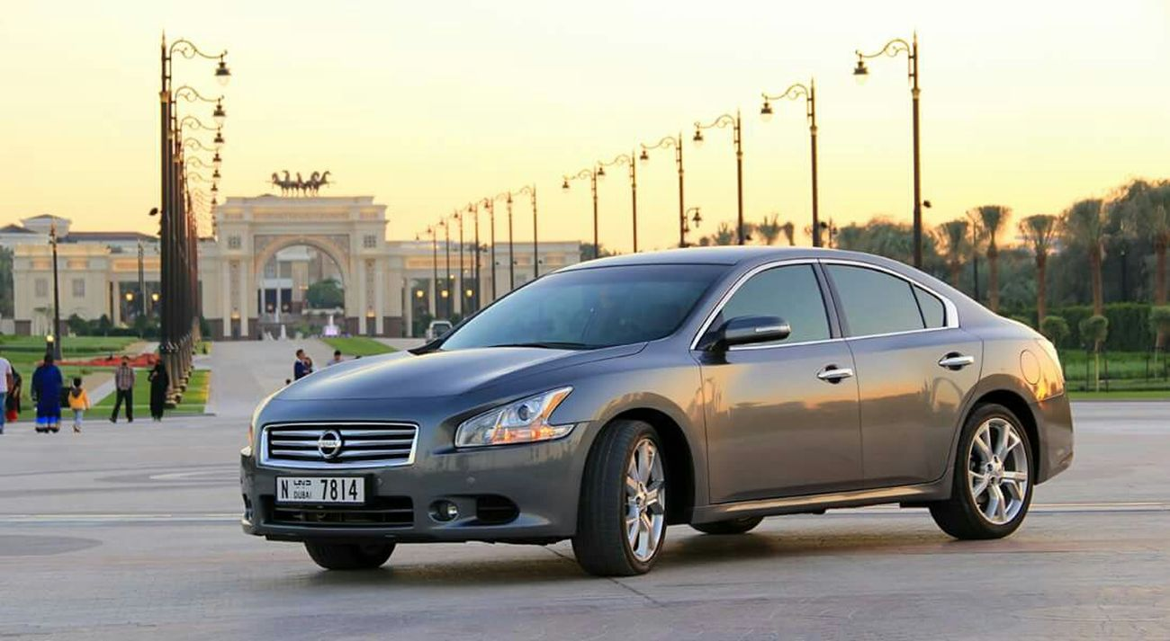 My new ride... ☺ NissanMaxima Enjoying Life Zabeel On The Road MyCar UAE , Dubai Palace