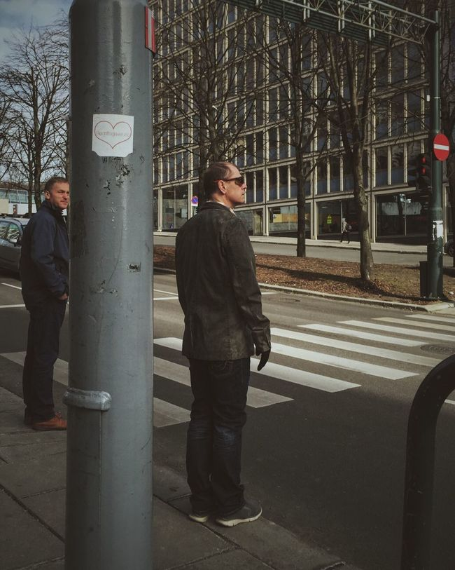 Take a stand • Oslostreets Streetphotography Street Photography Streetbwcolor Mobilephotography Mobiography