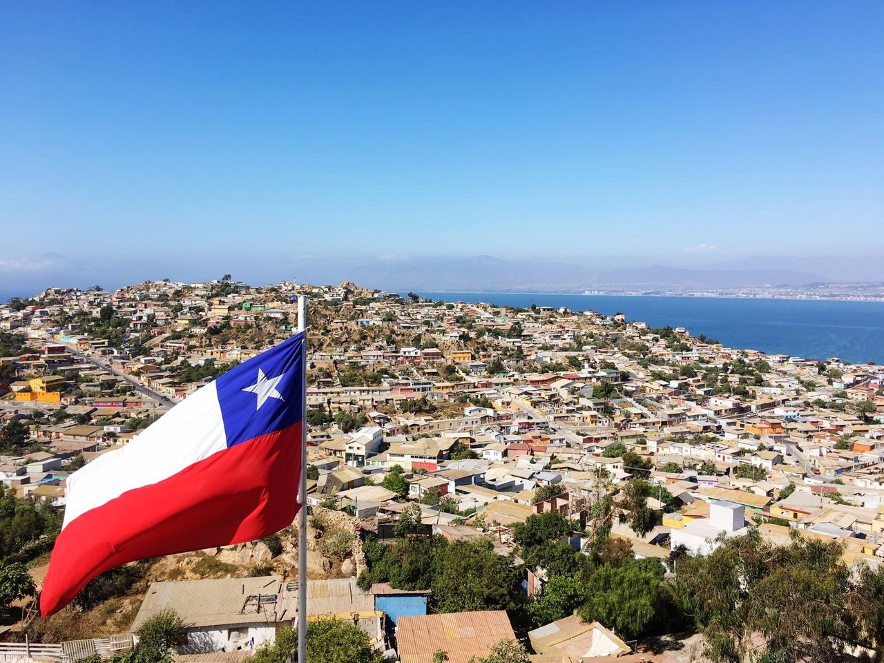 Beautiful stock photos of flag, Architecture, Blue, Built Structure, Chile