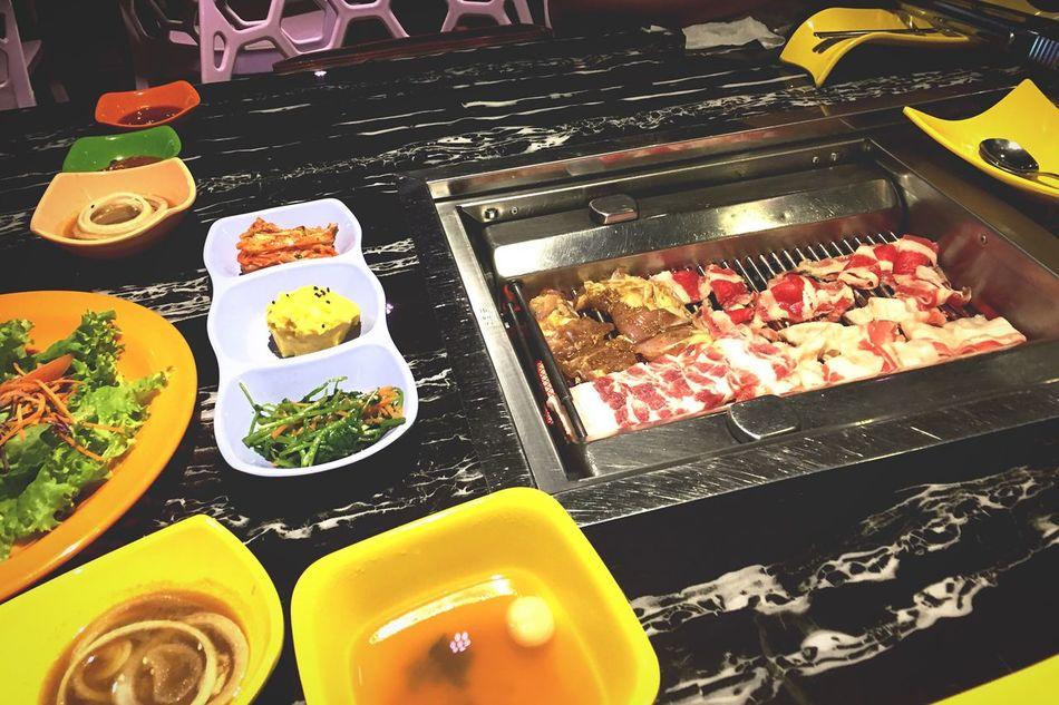 Korean Food BBQ Yummy Happy Colorful Lunch First Eyeem Photo EyeEm