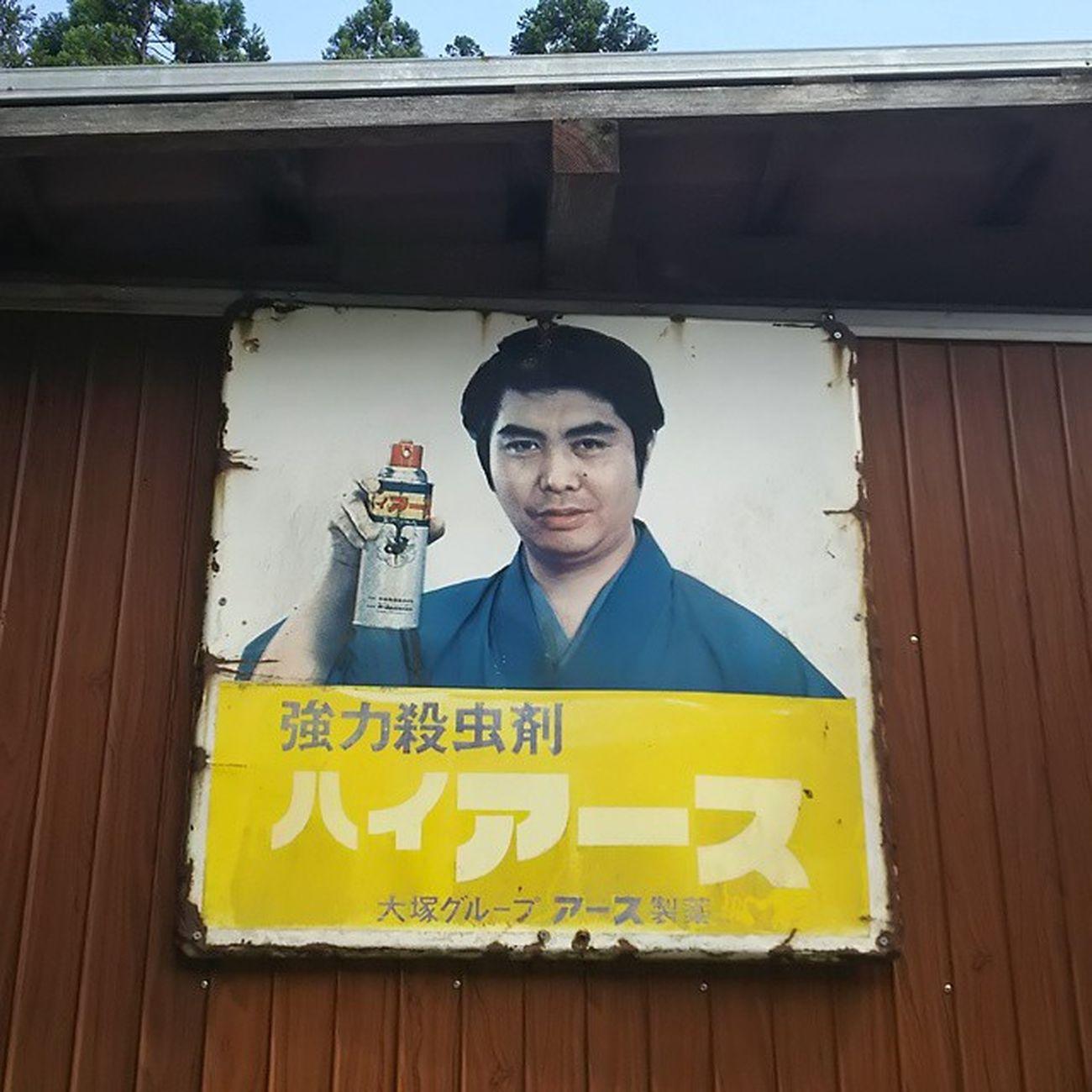 どこかで見つけた、ハイアース。 今日もおつかれさまでした。 殺虫剤 ハイアース 看板 昭和 サビ 田舎 街角 Team_jp_ Japan Instagood Icu_japan Ig_japan Ig_nihon Jp_gallery Japan_focus
