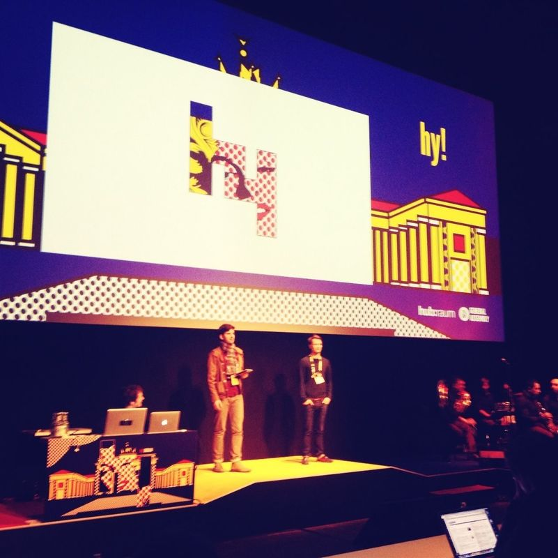 Thnx Hans & Aydo for making it happen! @hyberlin hyberlin by Flo Meissner