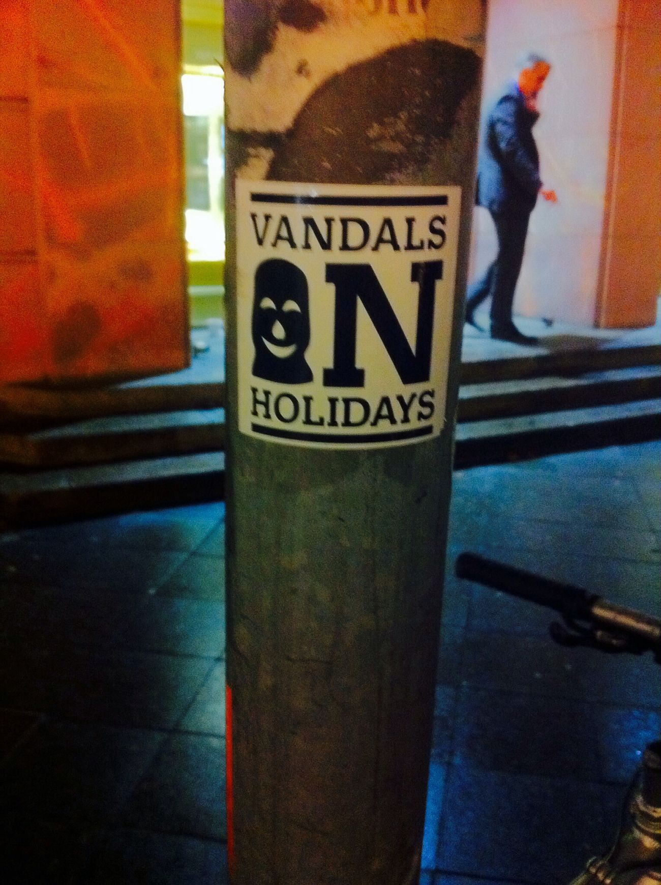 """ Vandals on Holidays "" Stickerart 