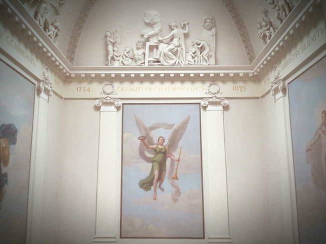 Gorgeous Academyofart Wall Picture Visiting Museum Saint Petersburg