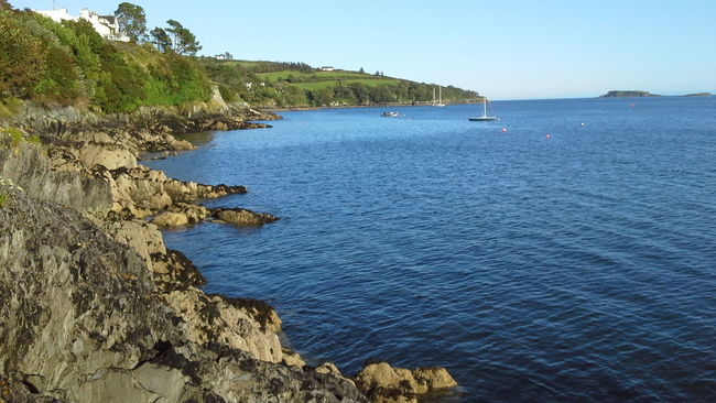 Beautiful Blue Glandore, Ireland Ireland Seascape Seashore Seaside Tranquil Scene Tranquility Water West Cork No Filter, No Edit, Just Photography From My Point Of View