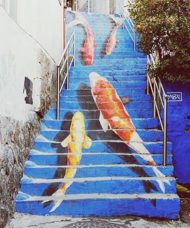 Fish Fishes Goldenfish Stairs_collection Stairways Stairs_steps Stairs To Heaven Design Art, Drawing, Creativity Artistic Art Gallery Streetart #street #streetphotography #tagsforlikes #sprayart #urban #urbanart #urbanwalls #wall #wallporn #graffitiigers #stencilart #art #graffiti #instagraffiti #instagood #artwork #mural #graffitiporn #photooftheday #stencil #streetartistry #photograp Streetphotography Street Art Columbia Portugal Colorful Life Sea Life Water World  Drawing Little Animals