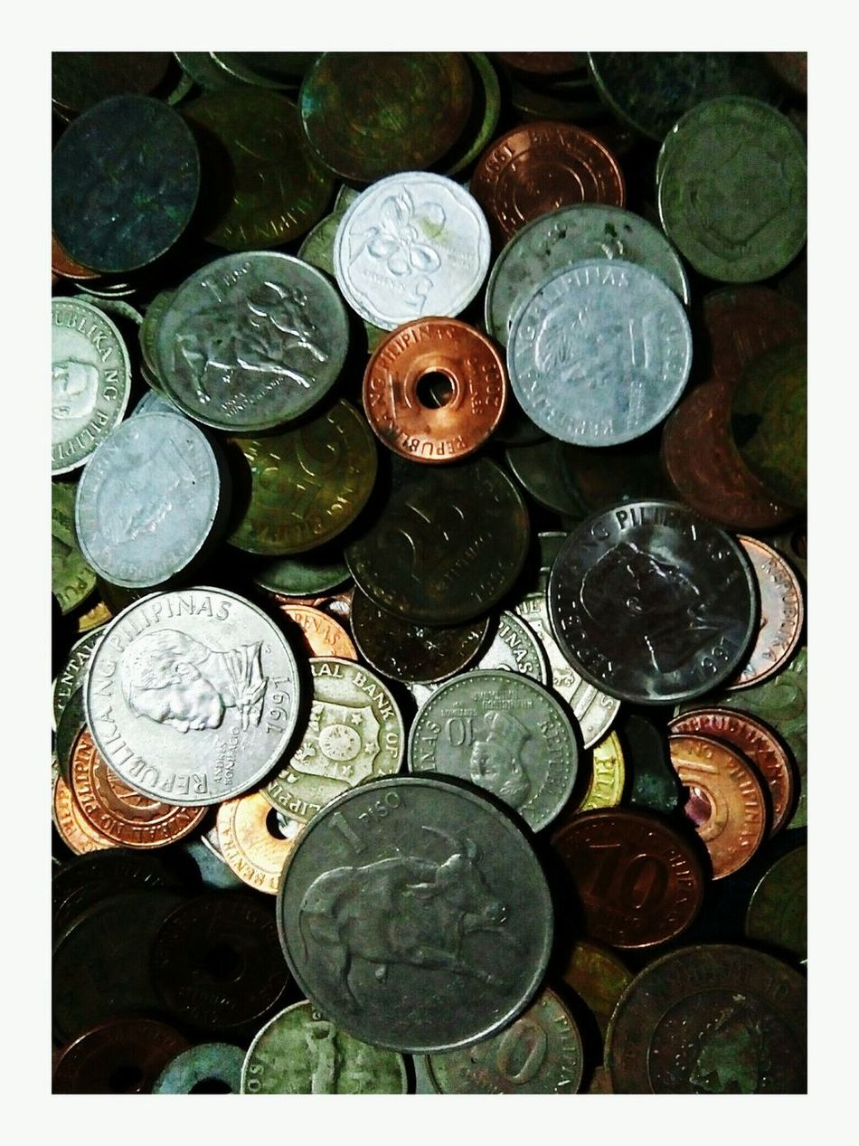 PrivateCollections Deceptively Simple Eyeem Philippines EyeEm Gallery ,,,collected this old coins decades ago.