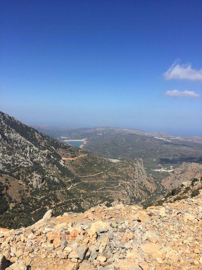 Mountain Tranquil Scene Tranquility Scenics Landscape Non-urban Scene Dramatic Landscape Nature Beauty In Nature Sky Crete Crete Greece