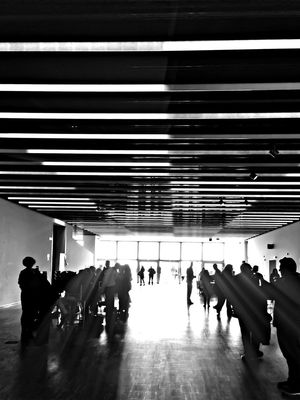 blackandwhite at Disseny Hub Barcelona (DHUB) by Gloria