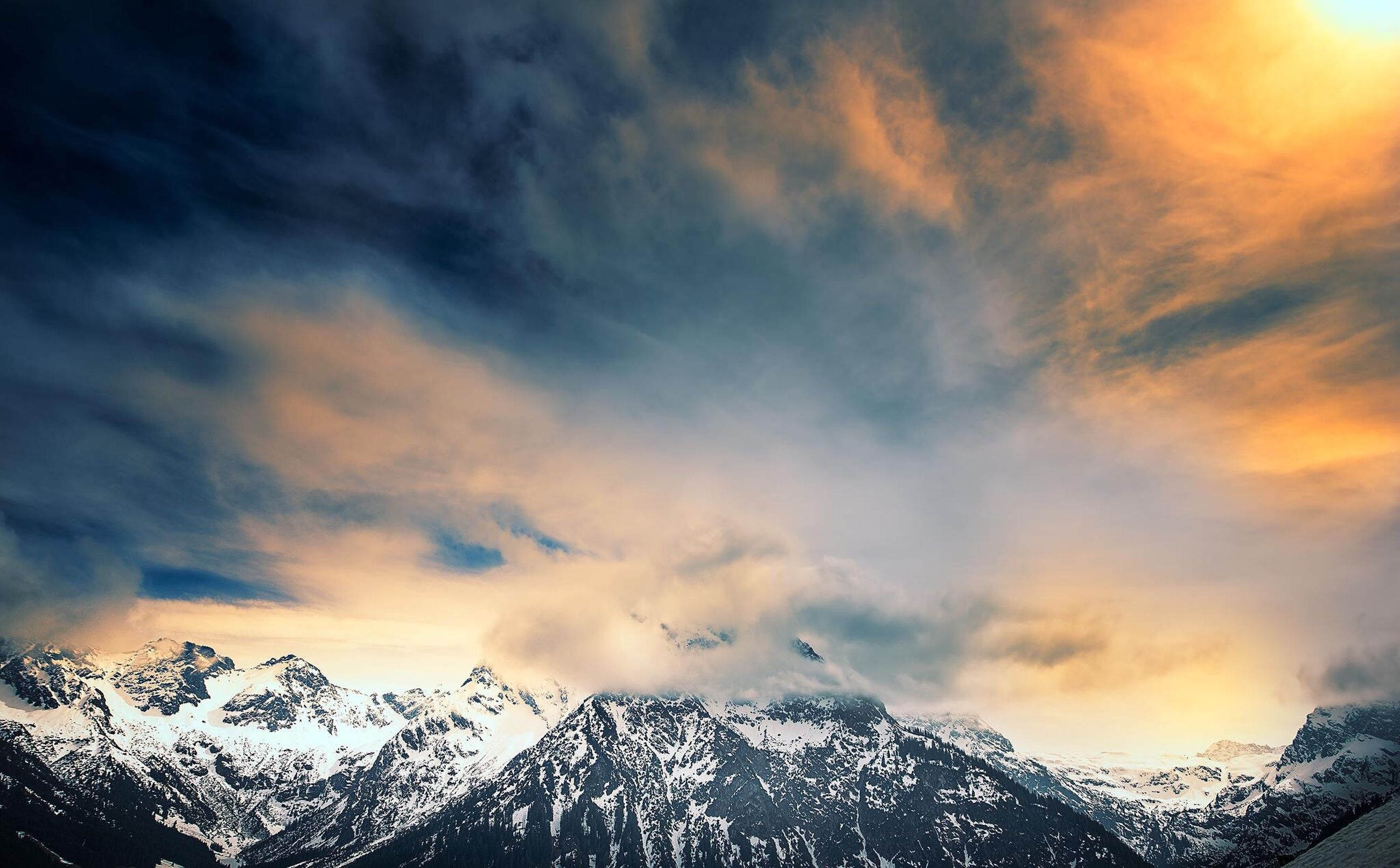 cloud - sky, dramatic sky, sky, nature, scenics, sunset, beauty in nature, mountain, mountain range, outdoors, landscape, no people, day