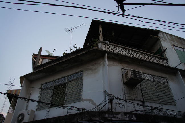 Abandoned Architecture Bangkok City Building Building Exterior Built Structure Damaged Day Deterioration Exterior Historic House International Landmark Obsolete Old Religion Residential Structure Wall Weathered Window