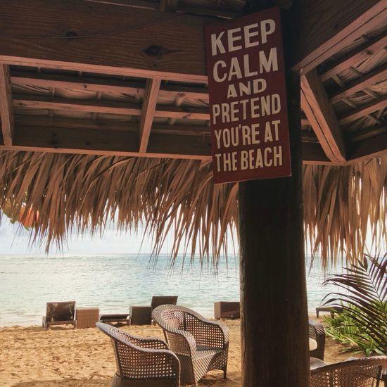 Relax at the beach Beach Caribbean Dominican Republic Sea Relax