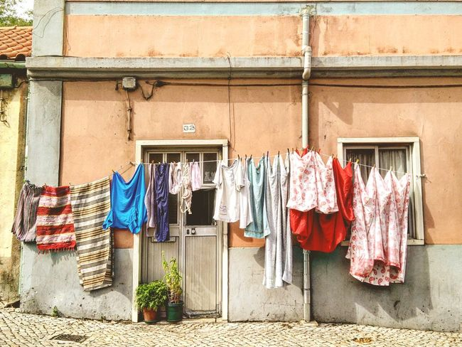 Just Another Sunday Laundry Street Photography Hanging
