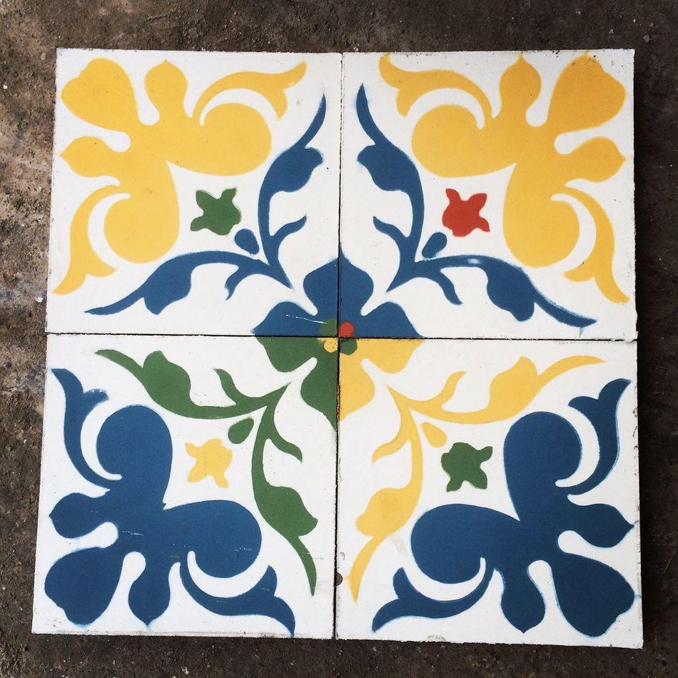 Pruebas de color. Arquitectura Interior Desin Mosaic Cementtile