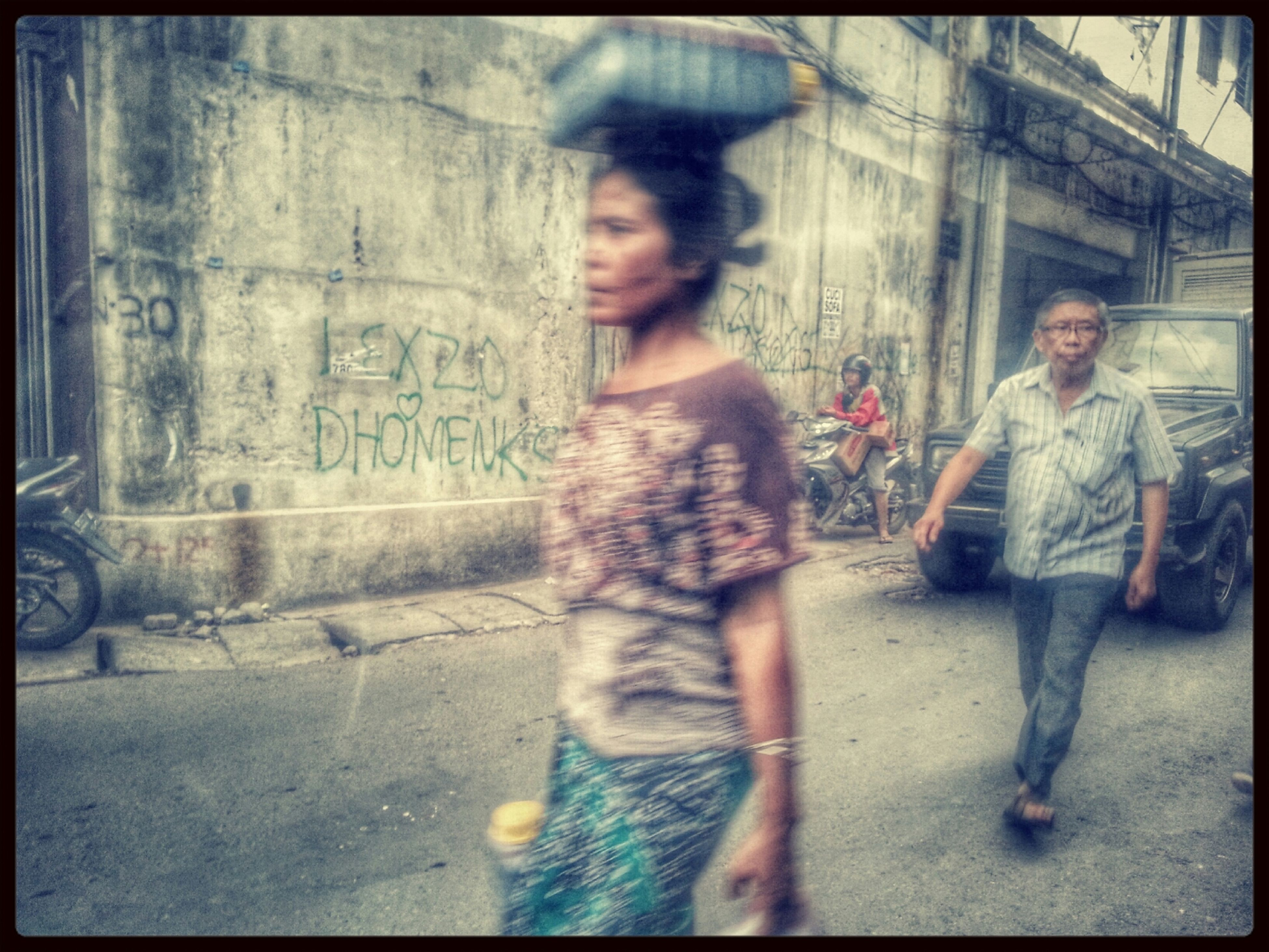 Walking Around People Watching Street Photography People
