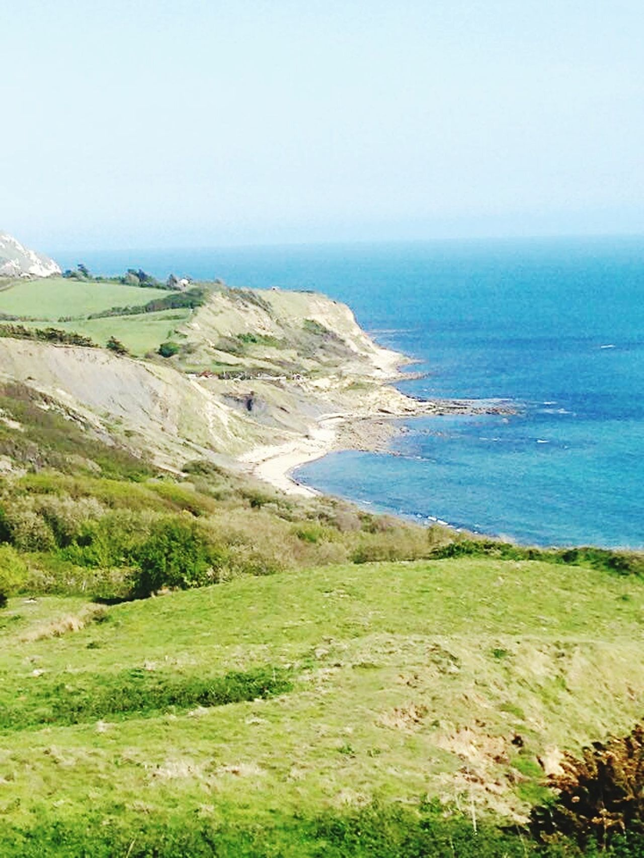 Landscape Outdoors Nature Travel Destinations Clear Sky Weymouth Dorset Coastal Path Sea Scenics