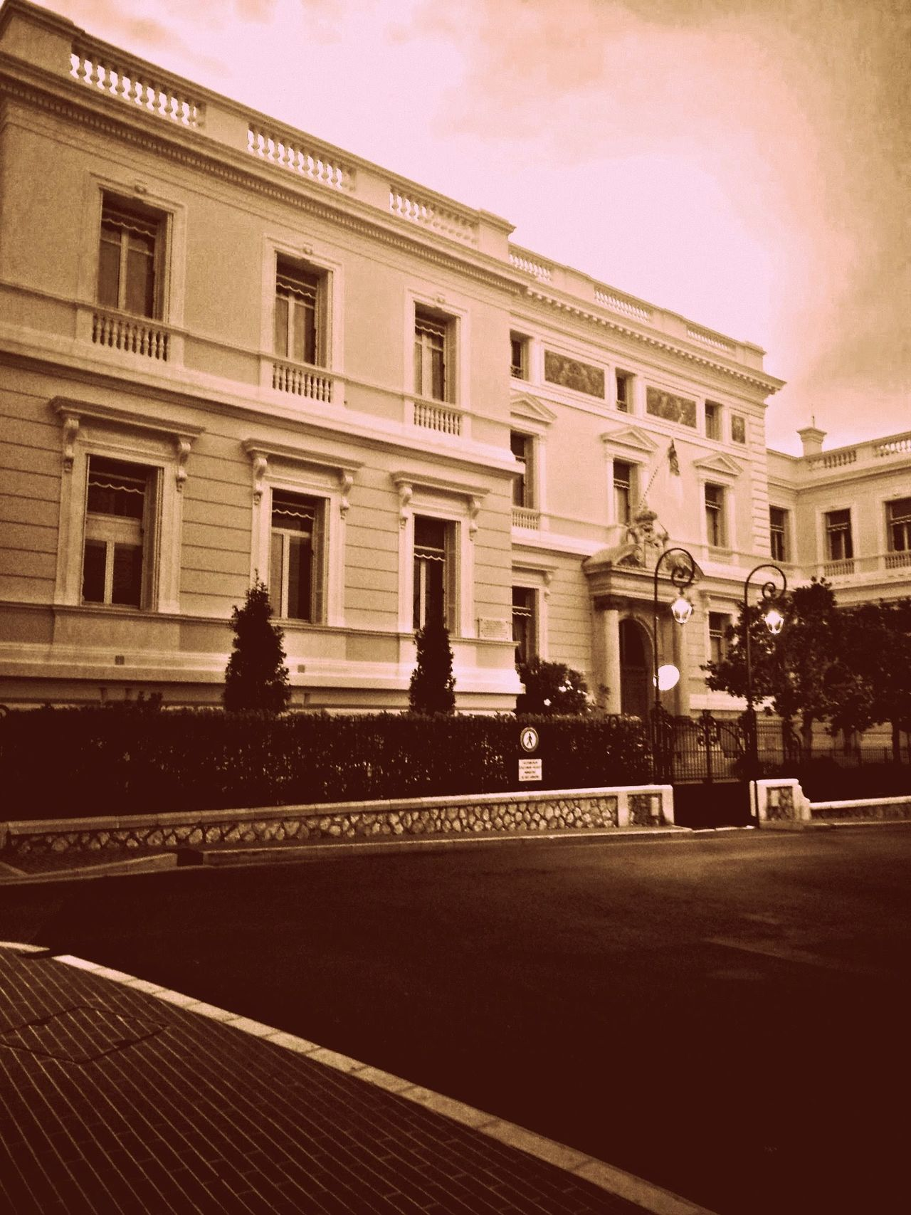 Architecture Building Exterior Built Structure No People Outdoors City Day Monaco Palace
