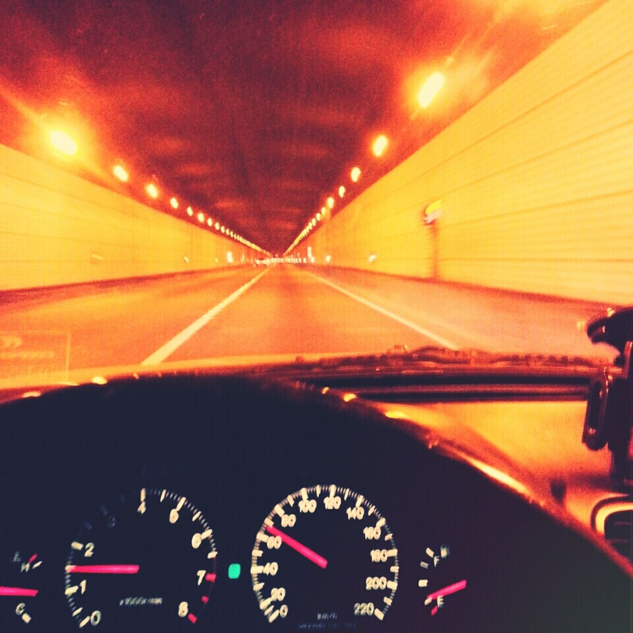 Nightdriving Tunnel