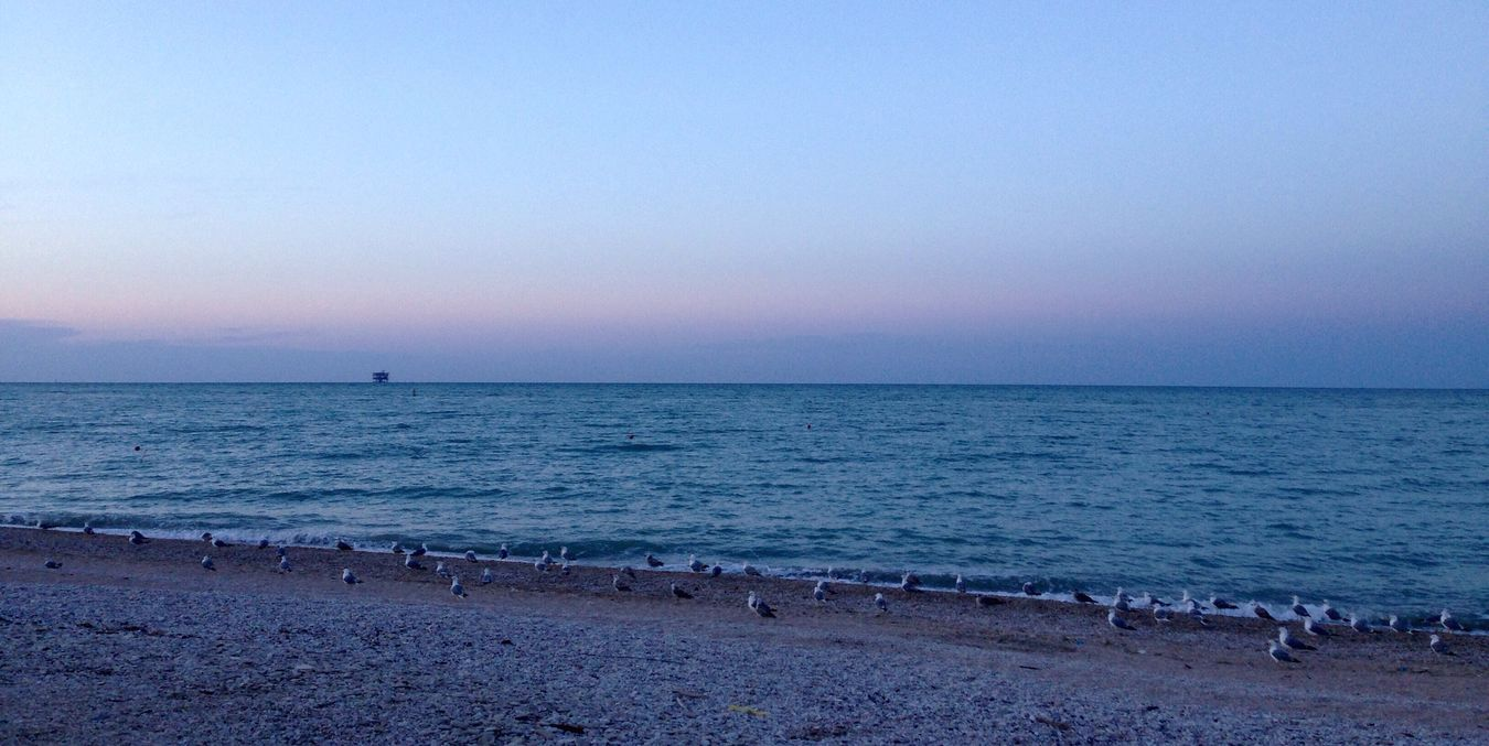 Italy Photooftheday Sea Beach Water Tranquility Blue Nature Calm Sky Photo