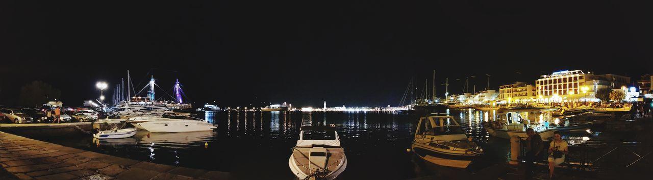 Night City No People Cityscape Zakhyntos Panorama Samsungphotography Samsung S8