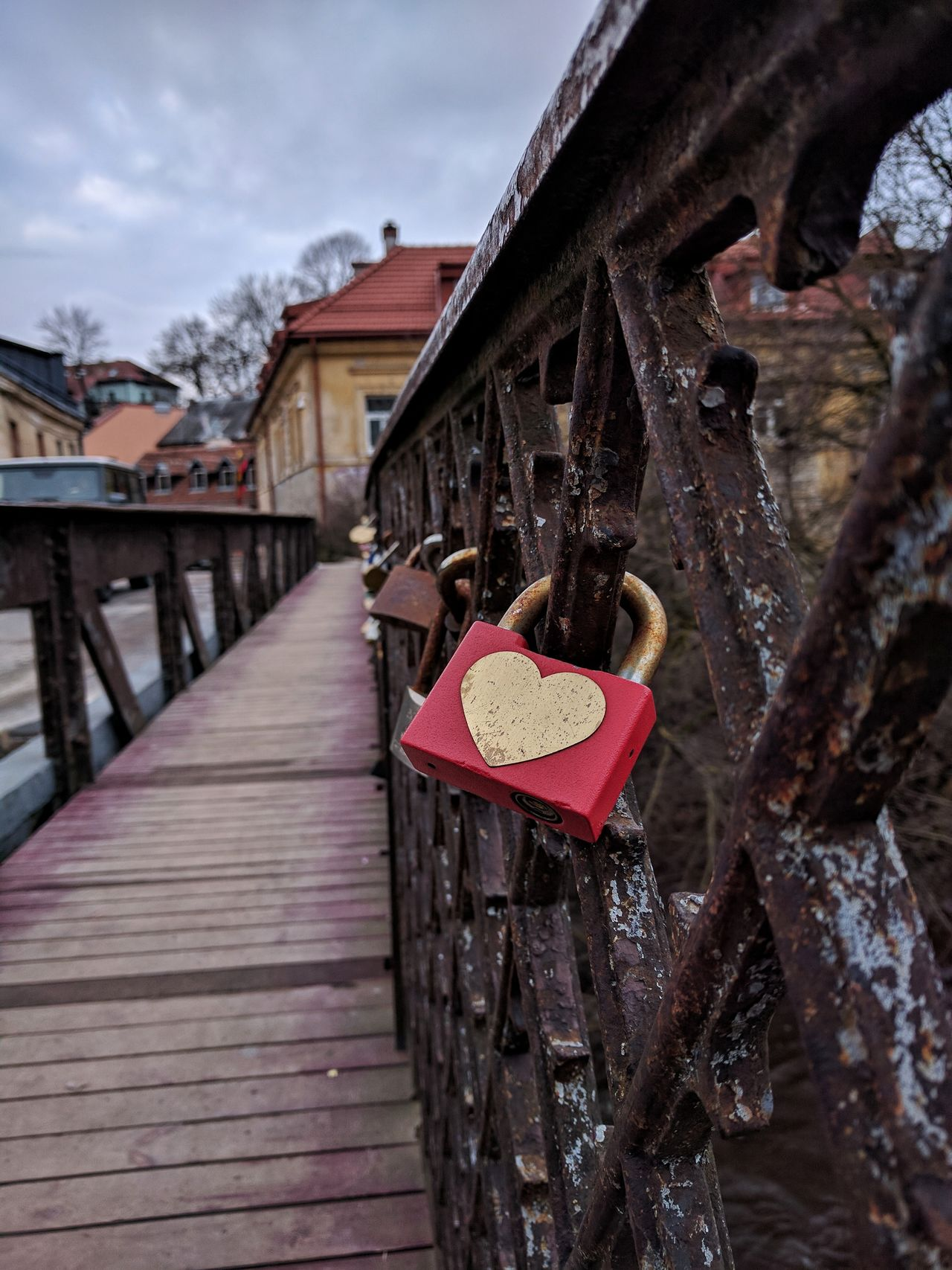 Love bridge Bridge Love Lock Old Town Old Bridge Colors Afternoon Calm Exploring Explore Vilnius Vilnius Old Town Love Locks Bridge