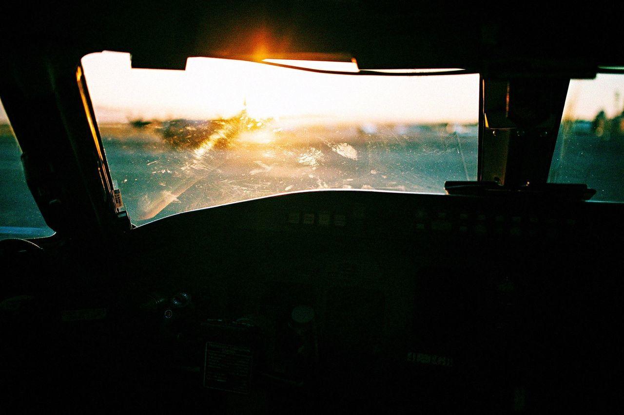 Car Transportation Land Vehicle Mode Of Transport Vehicle Interior Illuminated Night Sky Close-up Sunset Outdoors