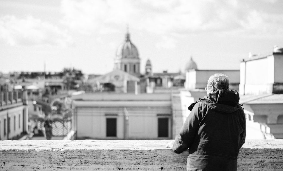 Beautiful stock photos of roma, 60-64 Years, Architecture, Building Exterior, Building Terrace