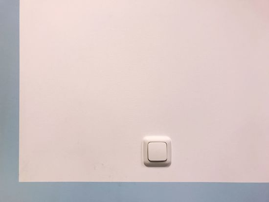 Minimal Minimalism Light Switch Electricity  Copy Space Indoors  No People Switch Close-up Technology