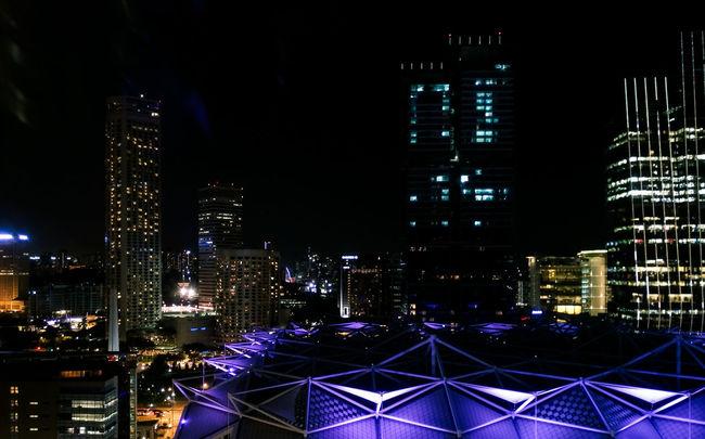 Cities At Night Cityscape Singapore VSCO
