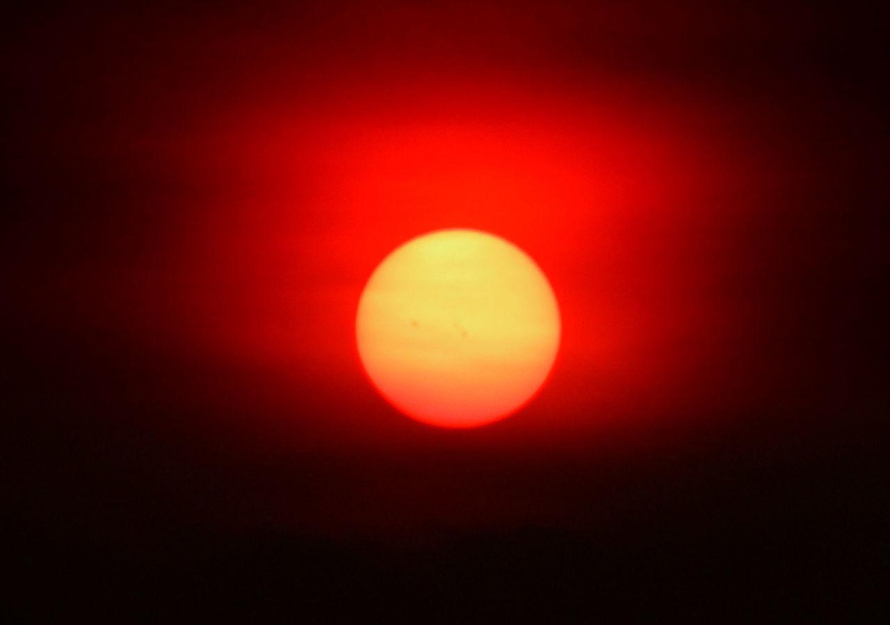 Super nova Sunset Sun Orange Color Scenics Glowing Majestic Beauty In Nature Vibrant Color Nature Circle Olympus620uz Superzoom