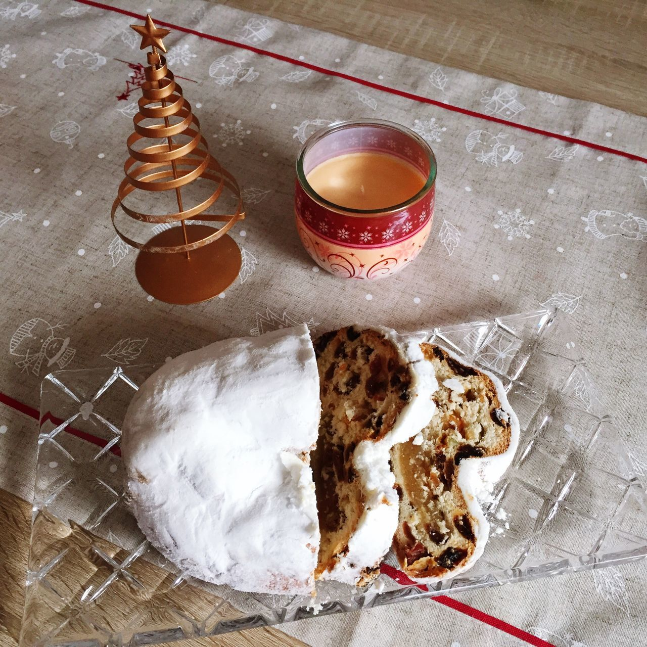 Christmas Stollen Breakfast Time Breakfast Christmas Christmas Decorations