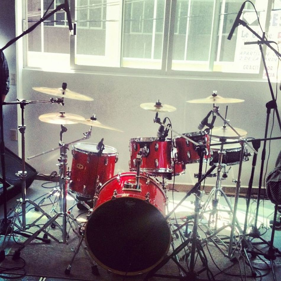 Chec this out Dtumset Tama Zildjian Dtums Red Stage