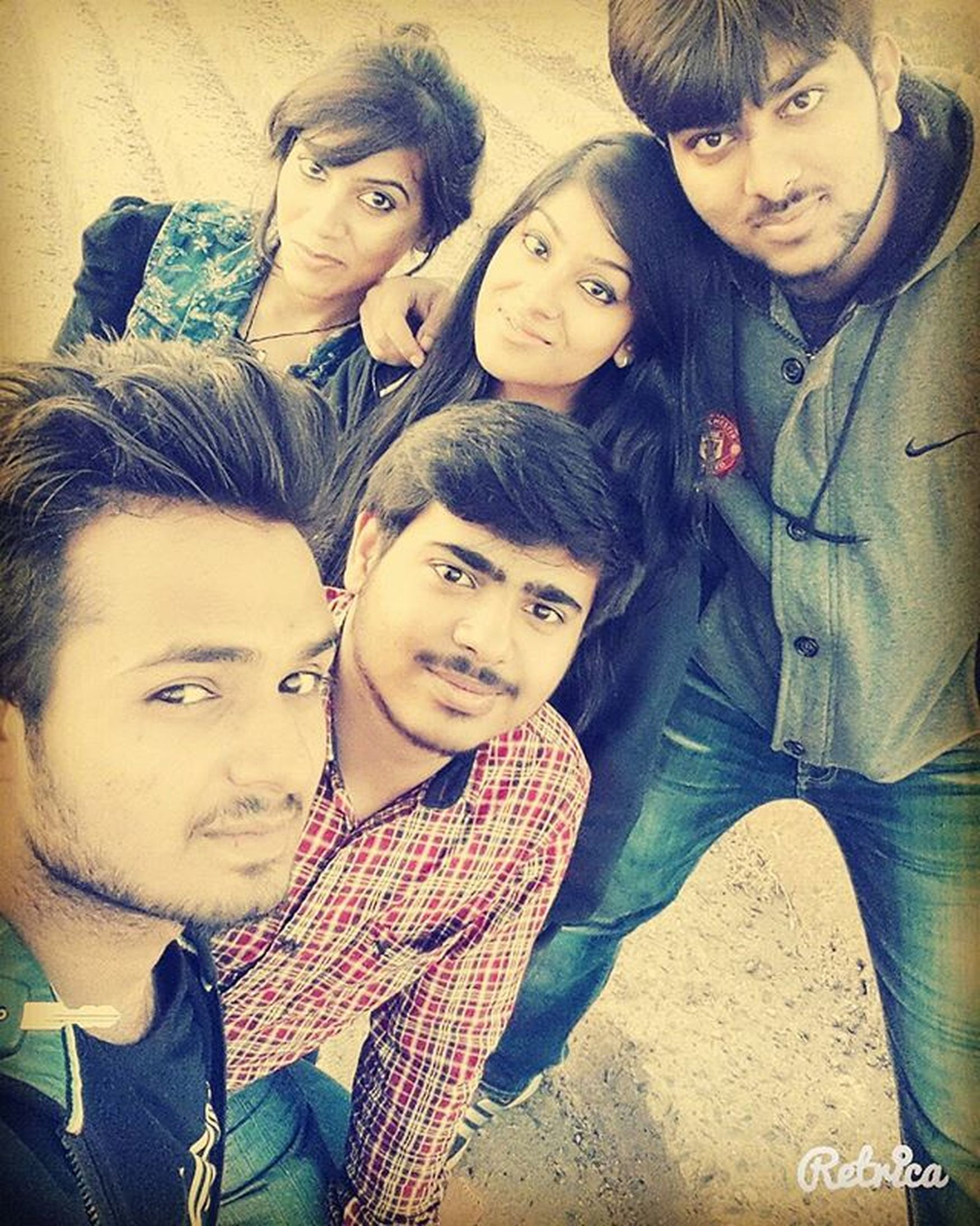 Reunion  With Besties At The Side Of Mountain Selfie Instapic Instagood Instalike Instagram Insta