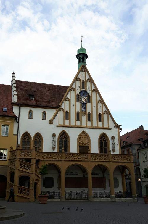 Rathaus von Amberg Orte