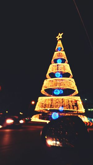 Christmas Celebration Christmas Decoration Illuminated Christmas Tree Christmas Lights No People Tree Topper Christmas Ornament Christmas Lights!  Lights Christmas Christmas Lights!  Night Tradition Inside My Car Night Photography Blurred Lights Blurred Photos.