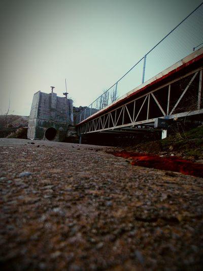 White River Falls Hanging Out Taking Photos Sketchy Bridge Bridges I've Seen Hanging Out