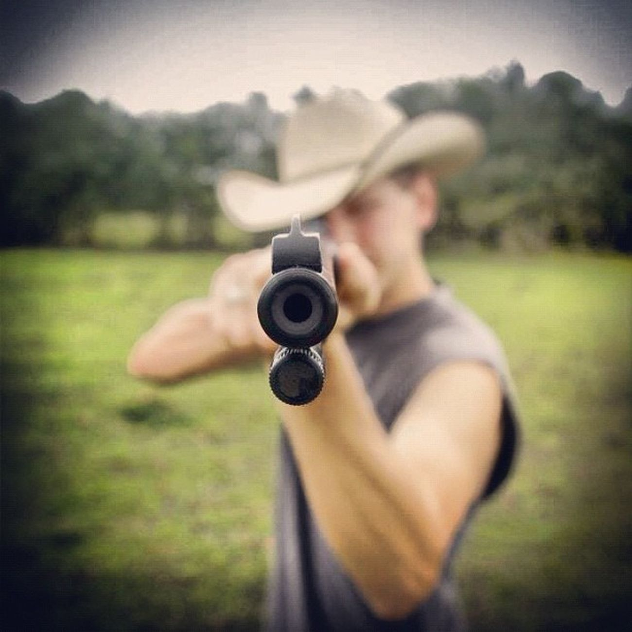 Smile, and wait for the flash! (shot with care) #igers #igerstexas #gun #aim #rifle #.22 #photooftheday #gcs #picoftheday #earlybird #_wg #jj_forum #jj #the_guild #primeshots #cowboy #hat #atyou Cowboy Jj_forum_0438 Photooftheday Aim Picoftheday Gun GCS Earlybird Igers Rifle Jj  Jj_forum The_guild Primeshots _wg Igerstexas Jj_forum_0370 Hat Atyou