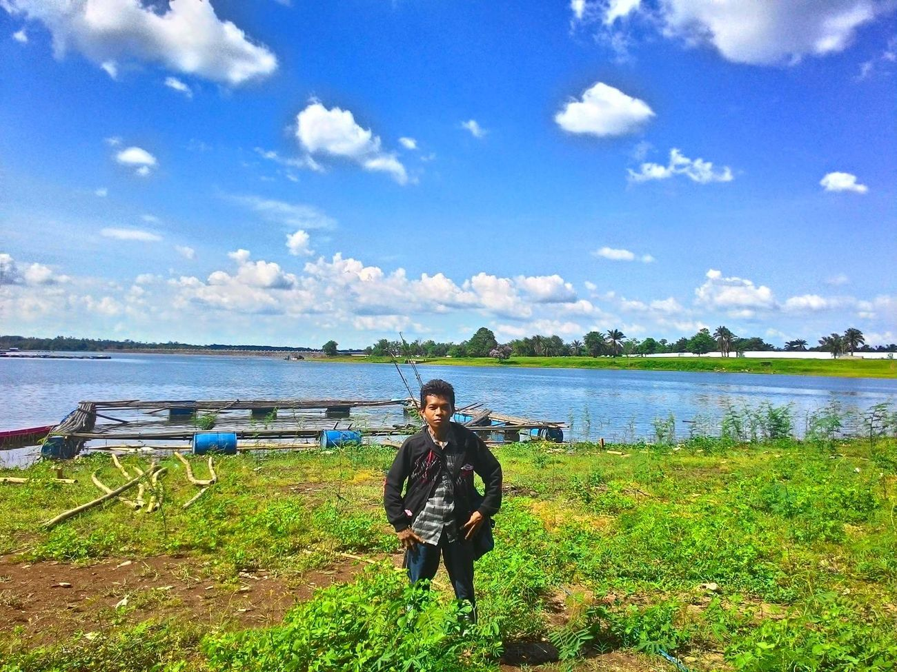 Asus Zenfone 5. Locasi waduk way rarem lampung utara Kotabumi Lampung Utara First Eyeem Photo