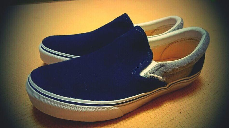 New! Sneakers Tokyo Vans Slipon Hello World