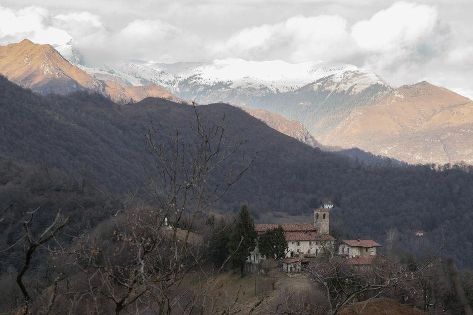 Architecture Day Mountain Mountain Range Nature No People Outdoors Sky Snow