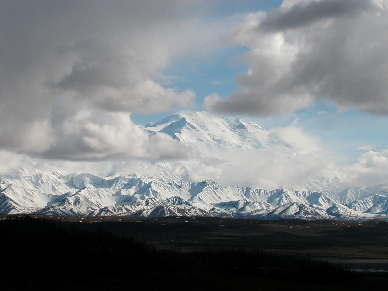 Alaska Beauty In Nature Cloud - Sky Cold Temperature Day Denali Denali National Park Glacier Landscape Mountain Mountain Peak Mountain Range Mt Denali Mt McKinley Nature No People Outdoors Scenics Sky Snow Snowcapped Mountain Winter